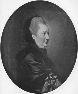 [Henrietta Jane Speed: Portrait by Peter Falconet, in the possession of Dr Brian Rhodes]