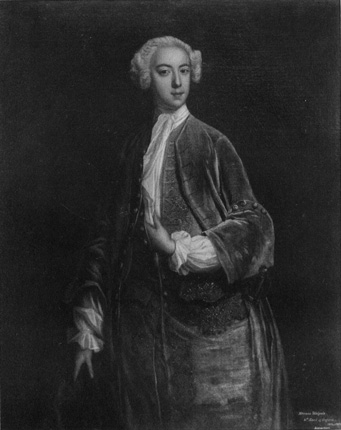 [Horace Walpole: From a painting (c. 1734) by Jonathan Richardson (1667-1745)]