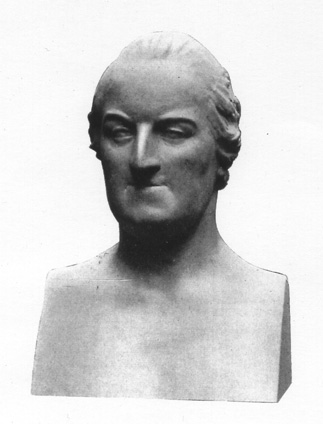 [Thomas Gray: Bust in terra cotta by John Bacon (1740-1799)]