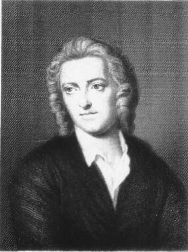 [Thomas Gray: From an engraving after the portrait by 	John Giles Eccardt (d. 1779)]