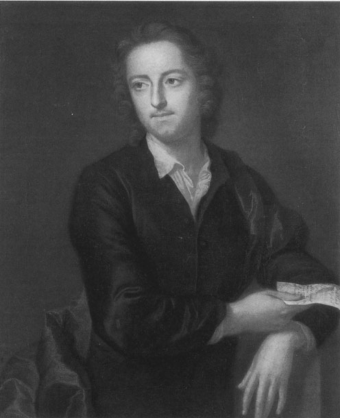 [Thomas Gray: Sitter in 1747 holding the MS of the Eton Ode, 	painted at the request of Horace Walpole]