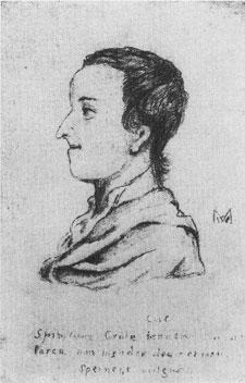 [Thomas Gray: From a pencil drawing apparently by Francis Mapletoft]