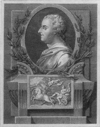 [Thomas Gray: From an engraving after a drawing by 	L. F. Burney]
