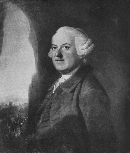 [Thomas Gray: From a painting by Benjamin Wilson (1721-1788)]