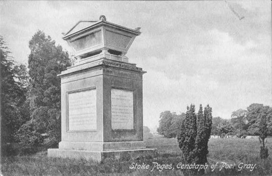 [Gray's Field, Stoke Poges: Cenotaph of Poet Gray ]