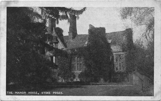 [The Manor House, Stoke Poges: Photograph of the Manor House estates ]