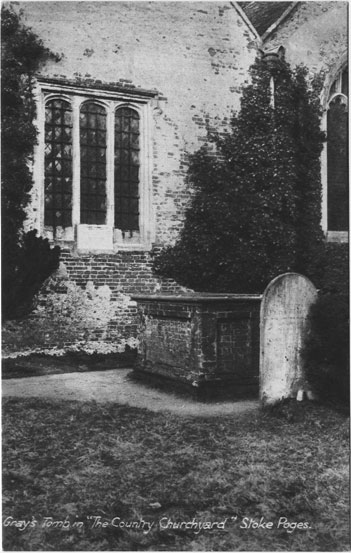 "[St Giles Church, Stoke Poges: Gray's tomb in ""The Country Churchyard,"" Stoke Poges ]"