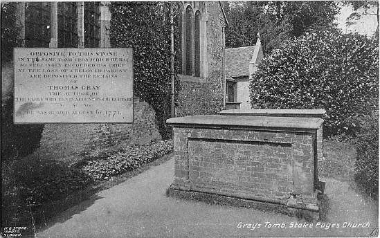 [St Giles Church, Stoke Poges: Gray's tomb ]